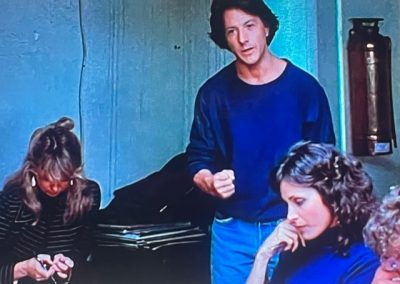Dustin Hoffman and Dawn In Tootsie Acting Class
