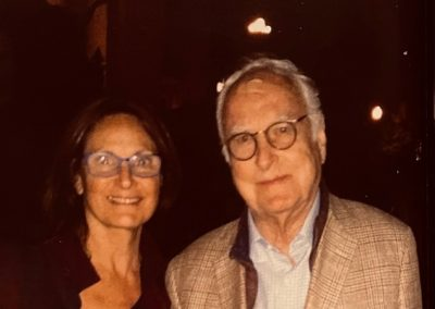 James Ivory and Dawn Young